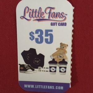 $35 Little Fans Gift Card